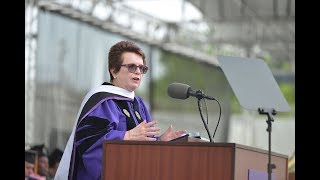 Download 2017 Commencement address by Billie Jean King Video