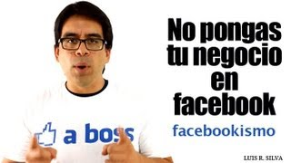 Download No pongas tu Negocio en Facebook - Estrategias de Marketing Online Video
