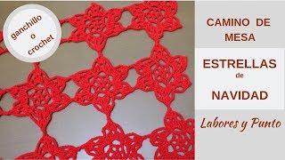 Download Como tejer camino de mesa para navidad a ganchillo o crochet- Muy Fácil!!!-Labores y Punto Video