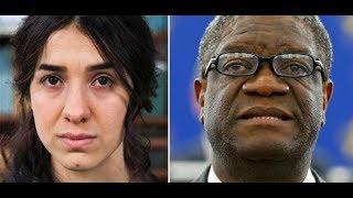 Download OSLO: Nadia Murad und Denis Mukwege erhalten Friedensnobelpreis Video