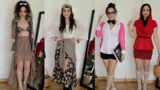 Download 4 Disfraces con ropa de tu closet Video