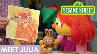 Download Sesame Street: Meet Julia (Full Clip | 10 Min) Video