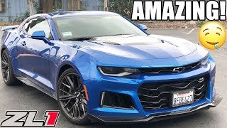 Download THE NEW CAMARO ZL1 REVIEW FROM A HELLCAT OWNERS PERSPECTIVE 😈 Video