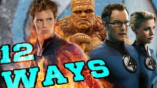 Download 12 Ways The Fantastic Four Could Be Introduced Into the MCU Video
