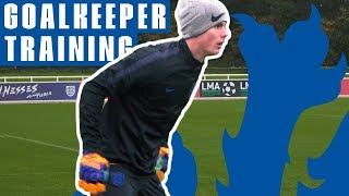 Download New Reaction Drill and One-on-ones! | Goalkeeper Training | England U21 Video