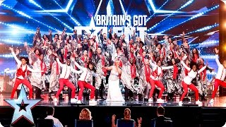 Download The 100 Voices Of Gospel go for gold! | Week 2 Auditions | Britain's Got Talent 2016 Video