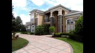 Download Florida Mansion For Sale - Turtle Creek in Dr. Phillips - Orlando, FL Video