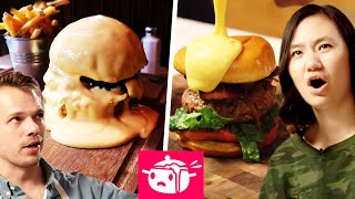 Download We Tried To Re-Create This Cheese-Covered Burger Video