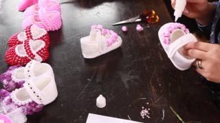 Download Bebek ayakkabısı süsleme nasıl yapılır? - 10marifet Video
