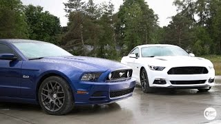 Download Old vs New Mustang GT Head to Head Review! Video
