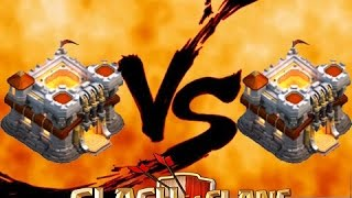 Download Clash of clans - บ้านเลเวล.11 Vs บ้านเลเวล.11 Video