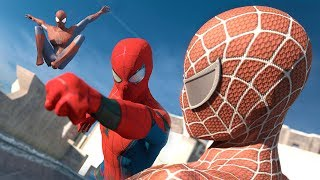 Download Spider-Man: Homecoming vs. The Amazing Spider-Man vs. Spider-Man | SUPERHERO BATTLE Video