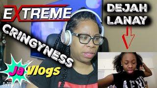 Download Reacting To DEJAH LANAY Old Cringy Videos | JaVlogs Video