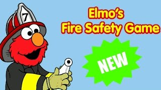 Download Sesame Street Elmo's Fire Safety Educational Kids And Children Games Video