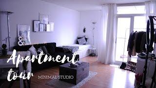 Download Minimal Studio Apartment Tour // BERLIN 2017 !! Video