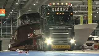 Download Glogau Int. Yachttransporte GmbH - Yachttransport BG 47 Video