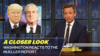 Download Washington Reacts to the Mueller Report: A Closer Look Video