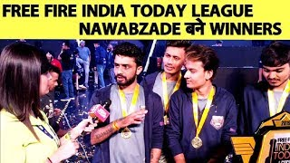 Download Free Fire India Today League: Team Nawabzade win final and Rs 8.5 Lakh Video