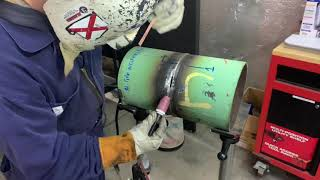 Download Pipe Weld Repair after Busted X-Ray Video