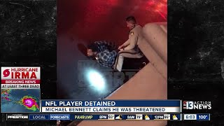 Download UPDATE: Las Vegas police show video of Michael Bennett running from hotel-casino Video