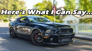 Download My STOCK Shelby GT500 Super Snake ran 120MPH in the 1/8 Mile! CAN YOU GUESS THE E.T.? Video