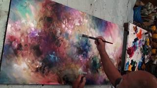 Download Simple Painting, Fun, Easy. Abstract, MIX Lang, Underpainting Video