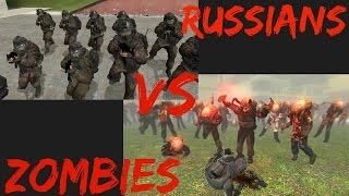 Download Garry's Mod NPC Wars: MW2 Russians Vs Zombies Video