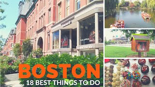 Download The 18 Best THINGS TO DO in BOSTON ♥ Video