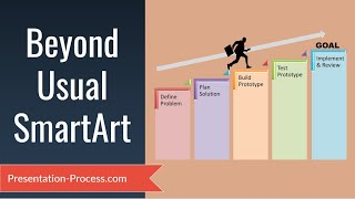 Download Going Beyond Usual Smartart : PowerPoint Smartart Series #9 Video