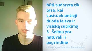 Download Povilas, Lithuania, reading article 16 of the Universal Declaration of Human Rights Video