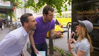 Download Billy on the Street: Would You Have A Threesome with Billy and Jon Hamm? Video