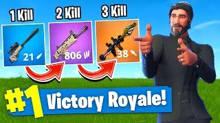 Download The GUN GAME *CHALLENGE* In Fortnite Battle Royale! Video