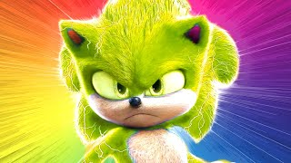 Download Sonic Toys CHANGE COLOR 😜 Sonic Toys Collection Miles Tails Prowers Knuckles animation color mix-up Video