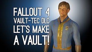 Download Fallout 4 Vault-Tec Workshop - LET'S MAKE A VAULT (Fallout 4 Vault DLC Gameplay) Video