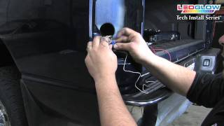 Download LEDGlow | How To Install an LEDGlow Tailgate Light Bar with Reverse Lights for Trucks Video