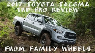 Download 2017 Toyota Tacoma TRD Pro review from Family Wheels Video