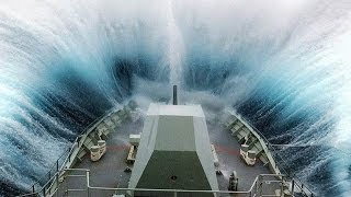 Download ©MASSIVE Waves Hitting Ships-Collisions Accidents and Crashes© Video