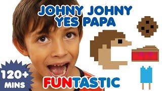 Download Johny Johny Yes Papa | Nursery Rhymes | Kids Songs | FUNtastic TV Video