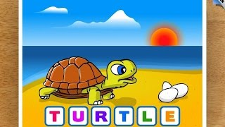 Download Kids Animal Word Puzzles ″CFC s.r.o. Education Games″ Android Gameplay Video Video