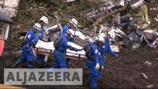 Download Footballers among 71 killed in Colombia plane crash Video
