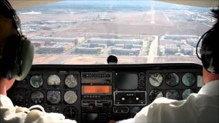Download Extreme crosswind landing in Las Vegas Video