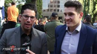 Download Shane McGuigan ″There's alot of hate there. Haye Bellew wont go past 3-4 rounds″ Video