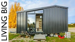 Download Architect Builds Incredible Off-The-Grid Tiny Home To Avoid High House Prices Video