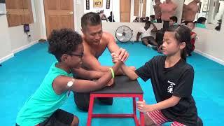 Download Kung Fu Kids - Strongest Arm Wrestler Challenge Video