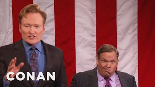 Download Andy Richter For Speaker Of The House - CONAN on TBS Video