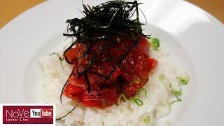 Download Spicy Tuna Donburi - How To Make Sushi Series Video