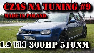 Download CZAS NA TUNING MADE IN POLAND #9 VW Golf IV 300HP 510NM 1 9tdi Video