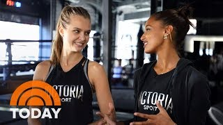 Download Behind The Scenes With Victoria's Secret Models Jasmine Tookes And Josephine Skriver | TODAY Video