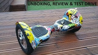 Download Self balancing, wheel smarting electric scooter, ″Mini-Segway″, ″HOVERBOARD″ UNBOXING, REVIEW Video