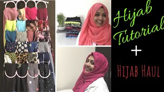 Download Hijab Tutorial Plus Hijab Haul/5 Different Styles/My Abaya or Pardha/On Viewer's Request Video